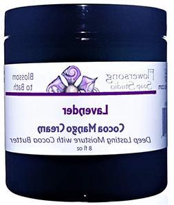 Lavender Cocoa Mango Body Cream - Deep Lasting Moisture for