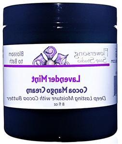Flowersong Lavender Mint Cocoa Mango Body Cream - Deep Lasti
