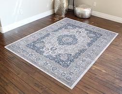 Masada Rugs light Color Vintage Floral Collection Soft Orien