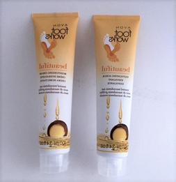 Avon LIMITED-EDITION foot works BEAUTIFUL toasted MACADAMIA