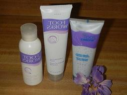 Lot of 3 AVON FOOT WORKS LAVENDER