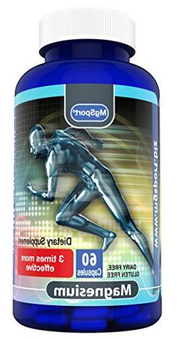 High Absorption Magnesium for Leg Cramps and Sore Muscles, E