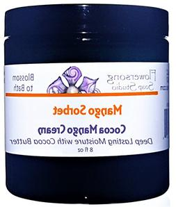 Flowersong Mango Sorbet Cocoa Mango Body Cream - Deep Lastin