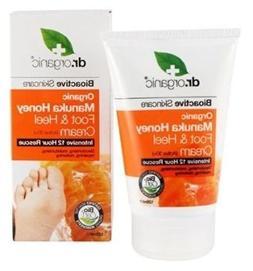 1 X 125ml Dr Organic Manuka Honey Foot & Heel Cream / Moistu