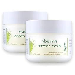 Miracle Aloe Vera Moisturizing Cream Face and Body Moisturiz
