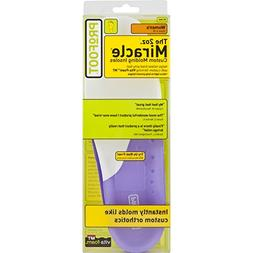 PROFOOT MEN'S 2 OZ. MIRACLE CUSTOM MOLDING INSOLES - SIZE 8-
