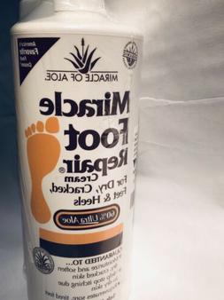 Miracle Foot Repair Cream, 32 Oz bottle W/ pump . 60% UltraA