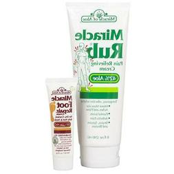 Miracle Rub Pain Relieving Cream 8 oz tube with 42% Ultra Al