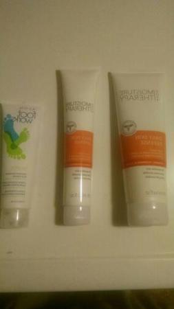 Avon Moisture Therapy Body Wash Hand Cream Foot Works