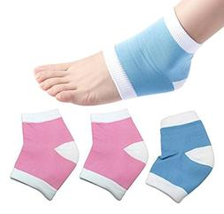 Moisturizing Gel Heel Socks Open Toe Sock for Hiker Climber