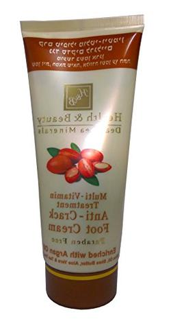 H&B Dead Sea Multi-Vitamin Anti-Crack Foot Cream Enriched wi