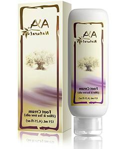 Natural Foot Cream for Cracked Feet - Vegan Premium Moisturi
