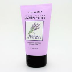 Nature Love Aromatherapy Foot Cream Lavender + Coconut Oil