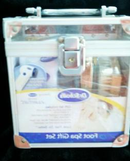 NEW DR SCHOLL'S FOOT SPA GIFT SET, ROTARY APPLIANCE, FOOT CR