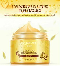 NEW Foot Care Herbal Cream Cleansing Delicate Feet Exfoliate