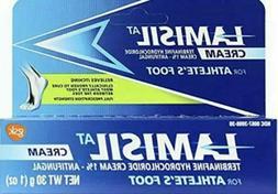 Lamisil AT Cream for Athlete's Foot Antifungal - 1oz Tube