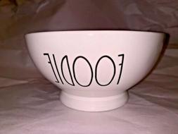 New Rae Dunn Ceramic FOODIE Farmhouse Footed Bowl Dessert Ce