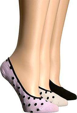 Kate Spade New York Women's 3-Pack Dot Cream 9/11