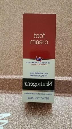 Neutrogena Norwegian Formula Moisturizing Foot Cream 2 oz Ne
