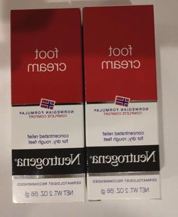 Neutrogena Norwegian Formula Moisturizing Foot Cream 2 Oz. T