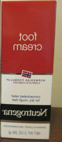 Neutrogena Norwegian Formula Moisturizing Foot Cream 2 oz