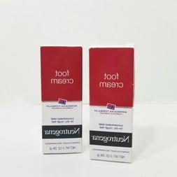 Neutrogena Norwegian Formula Moisturizing Foot Cream 2 Oz. x