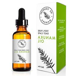 NZ Country 100% Manuka Oil 10X Potency of Tea Tree Oil 30ml