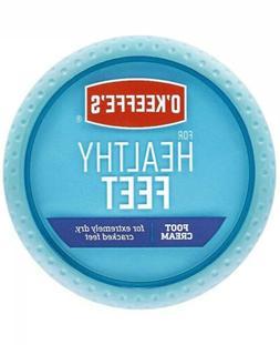 O'Keeffe's Healthy Foot Cream 3.2 Oz Jar for Dry Feet