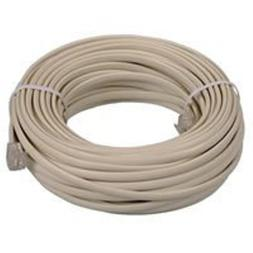 OEM 25 feet Ivory Phone Telephone Extension Cord Cable Line