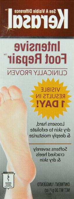 Kerasal One Step Exfoliating Moisturizer Foot Therapy Ointme