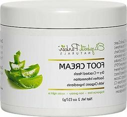 Organic Foot Cream for Dry Cracked Heels and Feet - Anti Fun