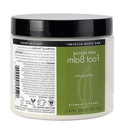 Max Green Alchemy Organic Formula Sole Rescue Foot Balm Jar