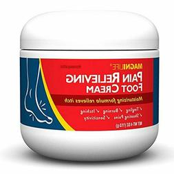 MagniLife Pain Relieving Foot Cream 4oz  - Therapeutic - Hea