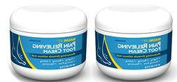 MagniLife Pain Relieving Foot Cream Two Pack - 4 fl oz each