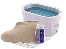 Therabath Professional Paraffin Wax Bath + Foot ComforKit Th