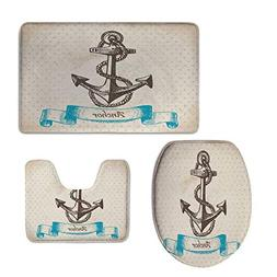 iPrint Pattern,Anchor,Vintage Inspired Anchor Polka Dots on
