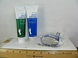 Avon Pedicure Tool and Foot Works Cream Bundle