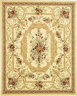 Persian Traditional Design rugs, Cream 8' x 10' - Feet Tiba
