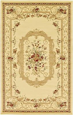 "Persian Traditional Design rugs, Cream 10' 6"" x 16' 5"" - Fee"