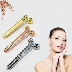 Portable Facial Massager 3D Roller Face Massager Promotes Bl