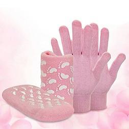 4pcs Premiun Hands & Feet Intense Moisture Replenishing Kit,