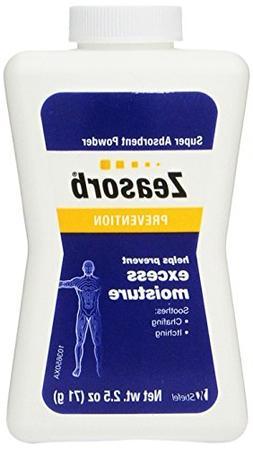 Zeasorb Prevention Super Absorbent Powder, Foot Care, 2.5-Ou