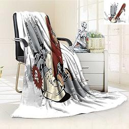 printing blanket teen room skateboard