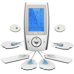 TEC.Bean Rechargeable FDA Cleared TENS Units Muscle Stimulat