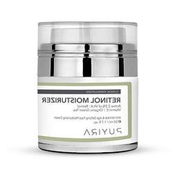 PUYIRA Retinol Facial Day and Night Cream Moisturizer, 1.7 f