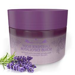 Salt & Oil Based Body Scrub Exfoliator Lavender: Get a Silky