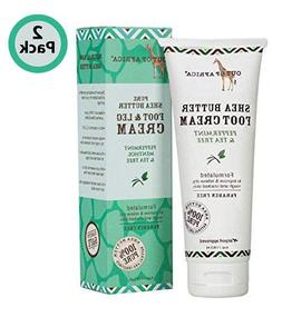 Out of Africa Shea Butter Foot Cream ; All-Natural Moisturiz