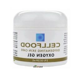 Cellfood Skin Care Oxygen Gel, 2 oz. Jar - Blended with High