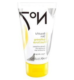 No7 Beautiful Skin Softening Foot Scrub - Pack of 2