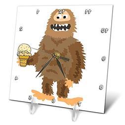 3dRose All Smiles Art - Funny - Cute Funny Unique Bigfoot or